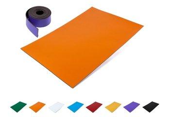 Gekleurde magneetfolie / band
