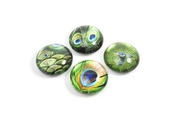 Magneten van (acryl) glas