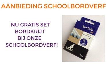 SCHOOLBORDVERF AANBIEDING!