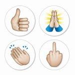 emoji hands magneten