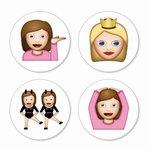 Emoji magneten girls