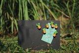 qualy cactus magneten oranje pot