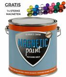 2,5 liter magneetverf met magneten