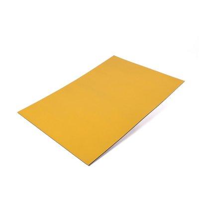 Gekleurde magneetfolie Geel A4 formaat