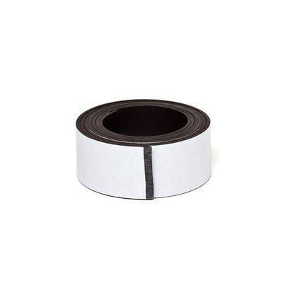 Zeflklevende magneetband 25 x 1000 mm