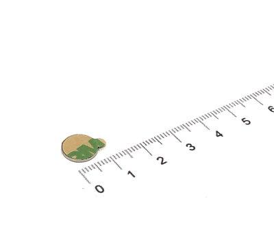 Zelfklevende schijfmagneet 10x1 mm