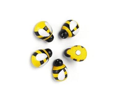 Honey Bee magneten van Trendform set van 5 stuks