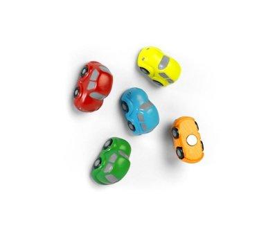 Leuke auto magneten in verschillende kleuren - 5 stuks