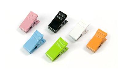 Coloclip magneten van metaal - 6 stuks