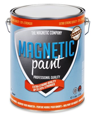 Magnetic Paint 5,0 ltr EXTRA STERKE professionele magneetverf