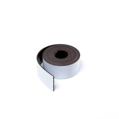Gekleurde magneetband Wit 15 x 1000 mm