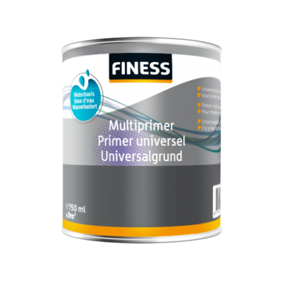 Universele multiprimer/grondverf Finess 0,75 Ltr