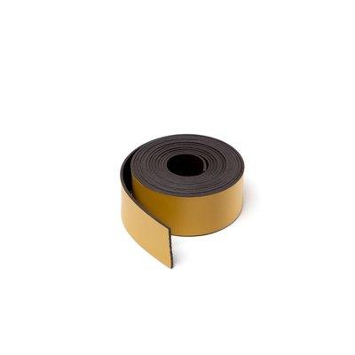 Gekleurde magneetband Geel 15 x 1000 mm