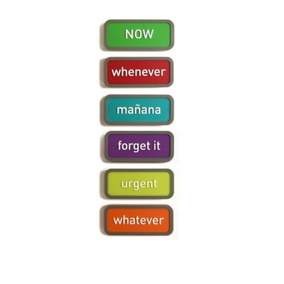 Planning magneten Expression - set van 6 stuks
