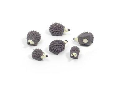 Egel magneten Hedgehog - set van 5 sterke magneten