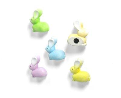 Konijn magneten Bunny - set van 5 neodymium magneten