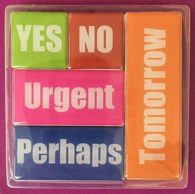 Leuke To Do magneten - set van 5 stuks