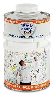 Professionele whiteboardverf 0,5 ltr wit glanzend