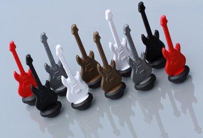 Leuke neodymium gitaar magneten - set van 10 gitaartjes