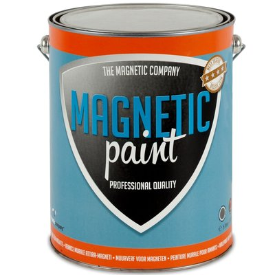 Magnetic Paint 5,0 ltr professionele magneetverf