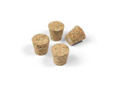 Magneet Cork - set van 4 sterke kurk magneten