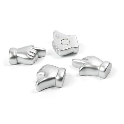 Hand magneten - set van 4 stuks