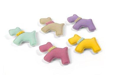 Magneet Jack - set van 4 leuke hondenmagneten