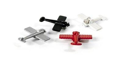 Magneet Airplane - set van 4 vliegtuigmagneten