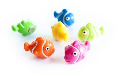 Magneet Nemo - set van 6 leuke vis magneten
