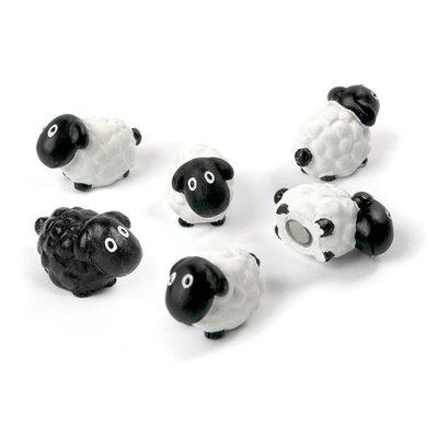Schaap magneten Trendform Sheep - set van 6 stuks