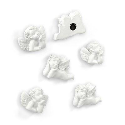 Engel magneten - set van 6 stuks