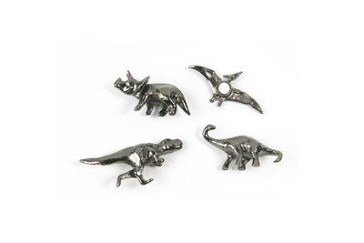Dino magneten - set van 4 stuks
