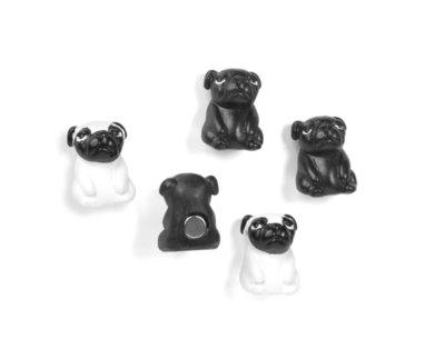 Honden magneten - set van 5 stuks