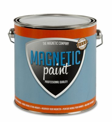 Magnetic Paint 2,5 ltr professionele magneetverf
