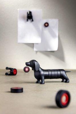 Magnetische Teckel - zwart