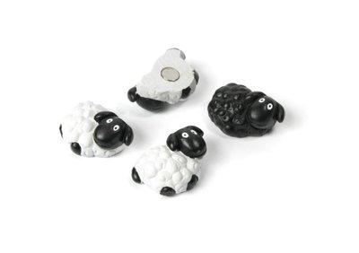 Schaap magneten - set van 4 stuks
