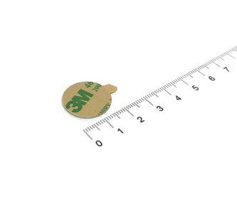 zelfklevende magneet 20x1 mm