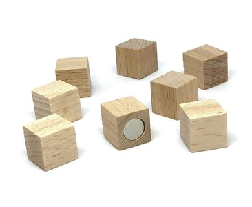 neodymium houtblokjes