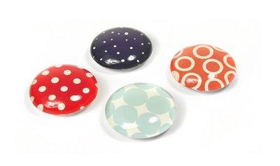 ronde glas magneten