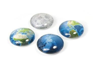 planeet magneten glas